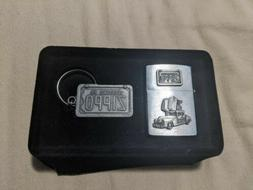 """1998 Zippo Limited Edition Collectible """"The Zippo Car"""" Light"""