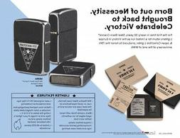 Zippo 49264, 75th Anniversary WWII Victory Collectible Light