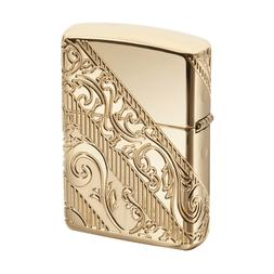 Zippo 2018 Collectible Of The Year, Gold Plated Golden Scrol
