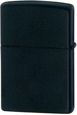 Zippo Black Matte WindProof Lighter Model 218 Lifetime Guara