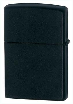 Zippo Windproof Black Matte Lighter,  Item 218, New In Box