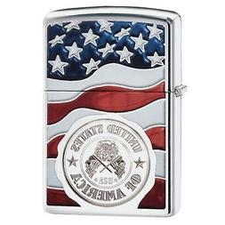 Zippo American Flag Lighters