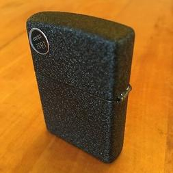 Genuine Zippo 236 black crackle windproof Lighter CASE ONLY