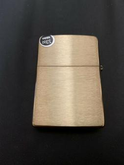 Genuine Zippo  high polish Brass windproof Lighter CASE ONLY