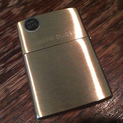 Genuine Zippo 204 brushed windproof CASE ONLY No