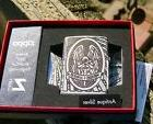 ZIPPO ST MICHAEL VERITAS DEEP CARVED ARMORED LIMITED EDITION