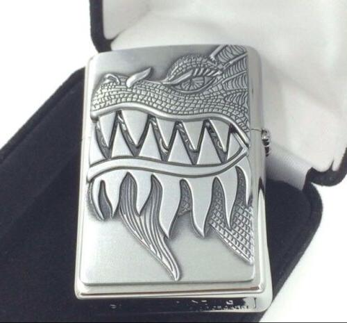 Zippo Dragon Teeth Brushed 28969 Lighter