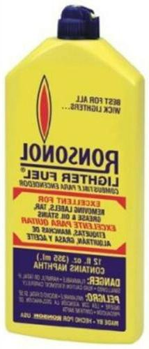 Zippo-Ronson 12oz Lighter Fluid 99063 Pack of 12