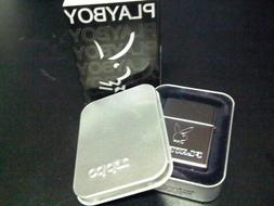 Zippo Playboy Limited Edition Chrome Windproof Lighter RARE
