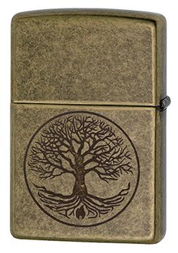 Zippo Tree Of Life, Antique Brass, LUltimate Survivaler 2914
