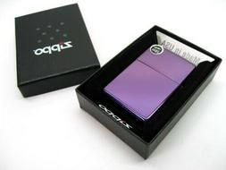 ZIPPO Full Size ABYSS Purple Colored Classic Windproof Light