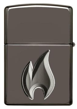 Zippo Armor 3-D Deep Carved Lighter With Zippo Flame, 29928,